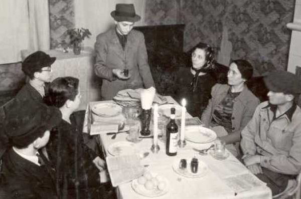 Seder, Warsaw ghetto