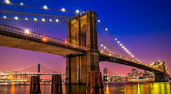 The Brooklyn Bridge in New York City (Pixabay)