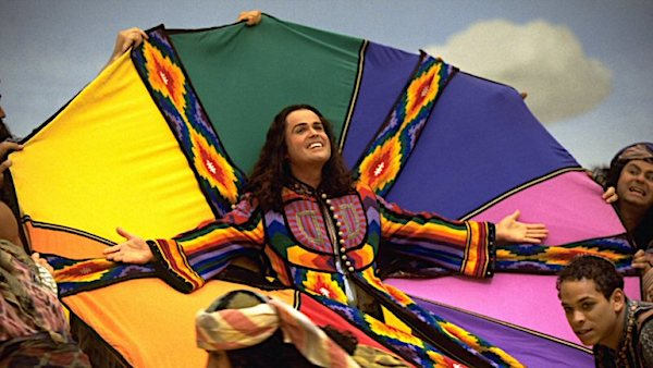 "Donny Osmond starring as Joseph in ""Joseph and the Amazing Technicolor Dreamcoat"""