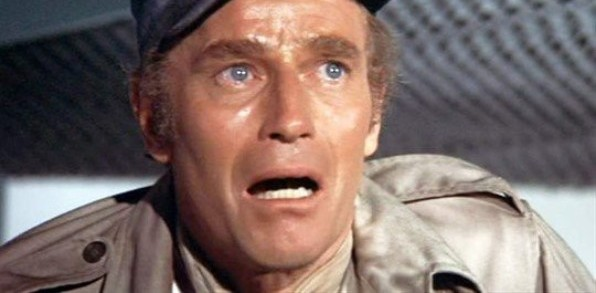 "Charlton Heston in the 1973 film ""Soylent Green."""