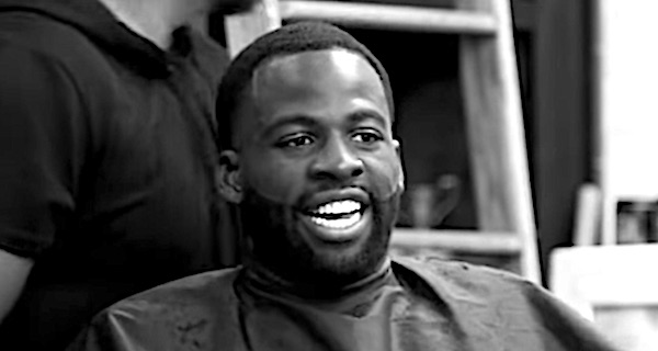 "NBA player Draymond Green of the Golden State Warriors (video screenshot courtesy ""The Shop"")"