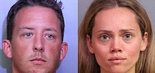 Joseph Irby and Courtney Irby (courtesy Polk County Sheriffs Office in Florida)
