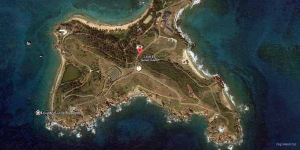 Jeffrey Epstein's Little St. James Island in the U.S. Virgin Islands