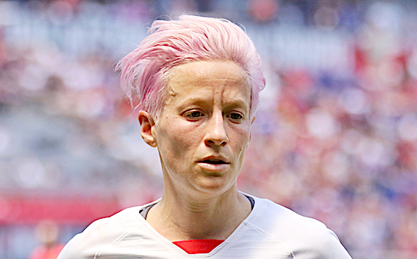 Megan Rapinoe (photo courtesy Jamie Smed / Flickr)