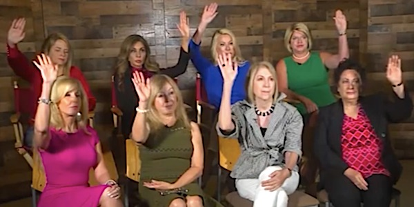 CNN seriously embarrassed by 8 women who don't fall into network trap