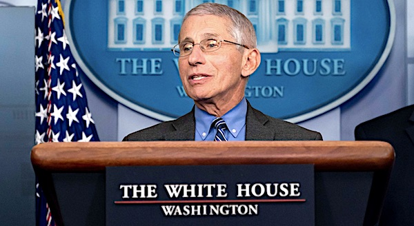 Fauci dismisses criticism as views of 'extreme people'