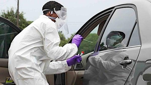 [coronavirus-testing-tests-swabbing-face-masks-military-defense]