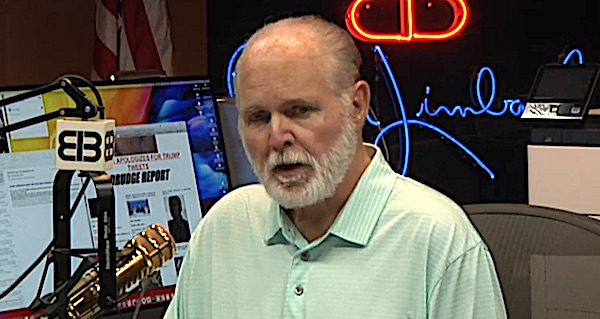 'Just waking up is a blessing': Limbaugh says cancer treatment is 'kicking my a**' - WND