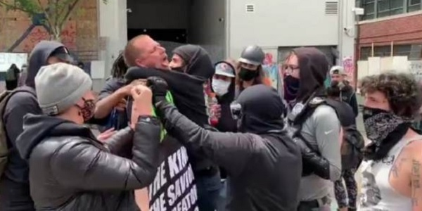 Antifa leader threatens `armed` action against Trump supporters