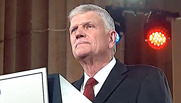 Franklin Graham warns of government control over citizens' lives