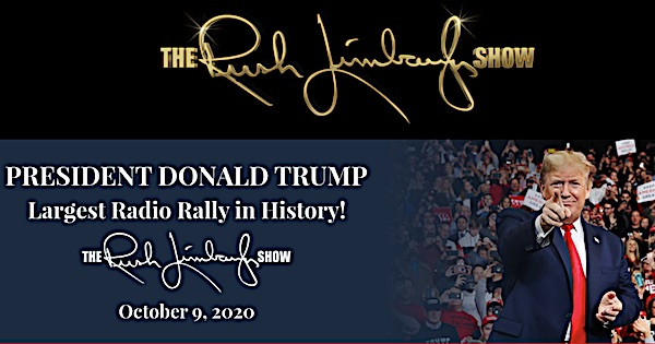 Trump joins Limbaugh's 'radio rally' to warn America's enemies not to mess with U.S.