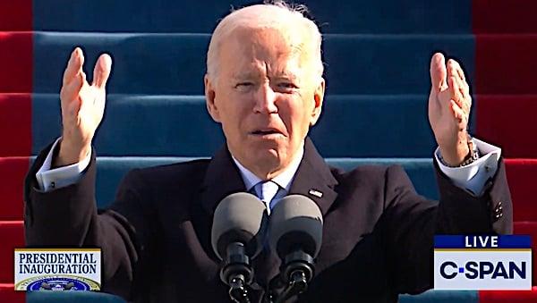 Unity? Biden's not talking about deplorables