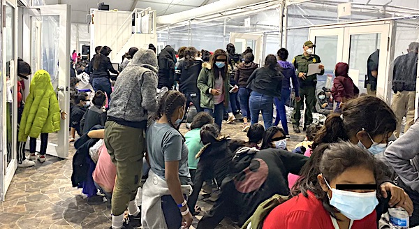 Crisis: Migrant apprehensions up 450% over last year