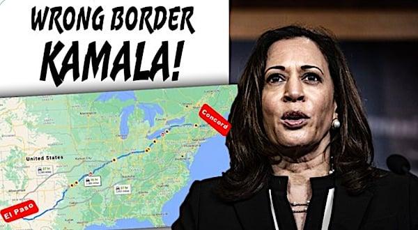 Kamala bashed for 'bureaucratic nonsense' about border crisis