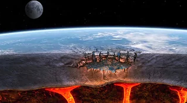 A 5th dimension of Earth's core just discovered: Is it 'hell' as described by Isaiah?