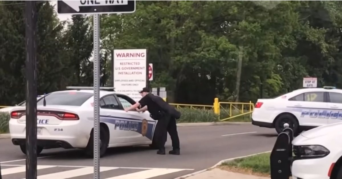 FBI agents shoot man outside CIA headquarters