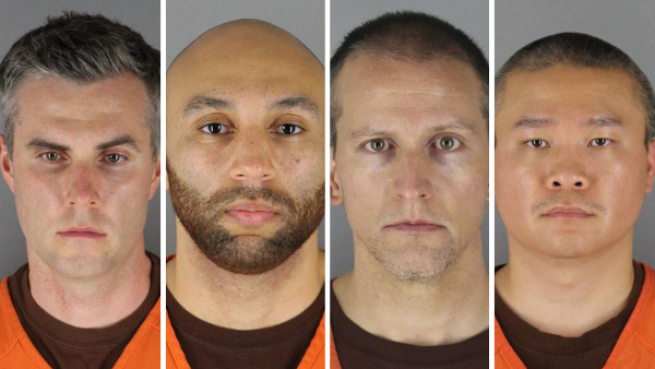 Federal civil-rights charges filed against officers in Floyd death
